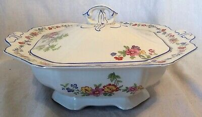 """Collectable Vintage Alfred Meakin """"Harmony Shape"""" Floral Pattern Lidded Tureen • 5.49£"""
