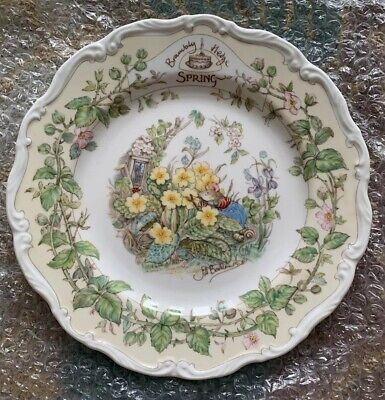 Royal Doulton Brambly Hedge Spring  8ins Plate  Ex Condition • 2.99£