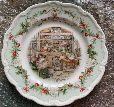 Royal Doulton Brambly Hedge The Discovery 8ins Plate  Ex Condition Rare • 8.99£