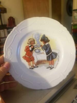 Antique Buster Brown Plate • 7.85£