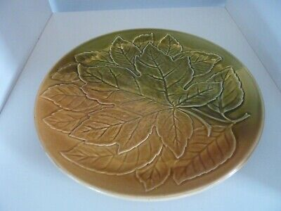 Vintage Royal Winton Grimwades Large Round Plate Natural Autumn Leaf Tableware • 12£