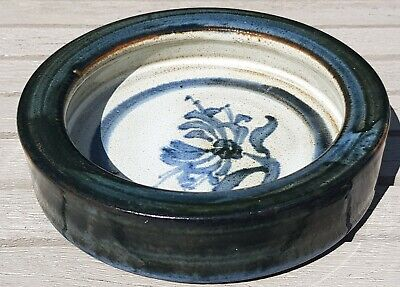 Vintage Briglin Studio Pottery Dish Signed On The Base EXCELLENT CONDITION • 27.99£