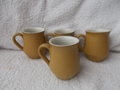 Vintage Denby Ode - 4 Coffee Cups 3.5  Tall • 4.99£