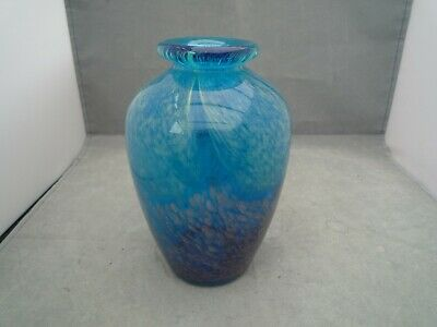 Glass Vase 6 1/2 Inch High • 14.99£