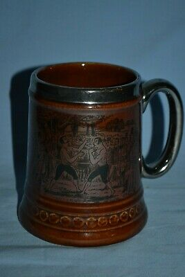 Vintage Lord Nelson Pottery Prize Fighting Boxing Tankard Rare Edition • 20£