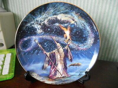 Royal Doulton Limited Edition  Plate  SORCERER'S SPELL    Fine Bone China • 10.99£