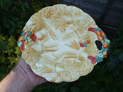 Clarice Cliff Celtic Harvest Hand Painted Plate.Honey Glaze.Newport Pottery.A/F. • 2.20£