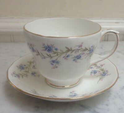 Vintage China Breakfast Cup & Saucer Duchess Tranquility • 9.99£