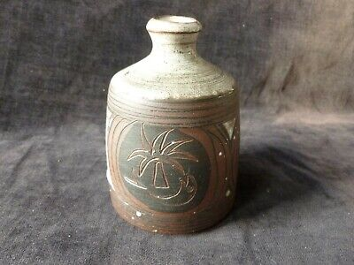 Briglin Vase Small With Palm Tree And Fish Decoration • 9.99£