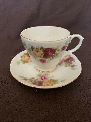 Vintage Duchess Bone China Cup And Saucer • 0.99£