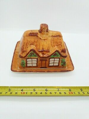 Vintage Westminster Cottage Ware Olde Cottage Butter Dish / Cheese Dish • 35£
