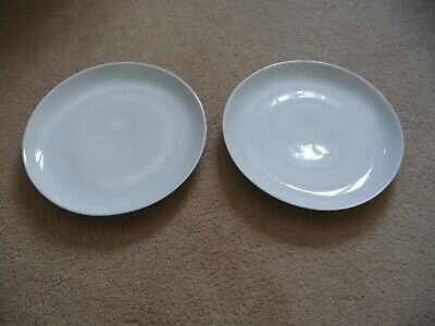 Set Of 2 Side Plates - White - Great Condition • 2£