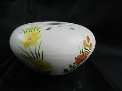 Vintage E. Radford Hand Painted Posy Flower Arranging Vase - Shape 1019 • 12.99£