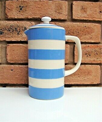 T G Green CORNISHWARE Cornish Ware CAFETIERE By Cloverleaf • 39.99£