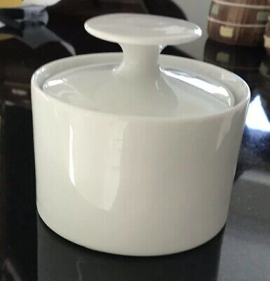 Thomas China Plain White Sugar Bowl VGC • 11.99£