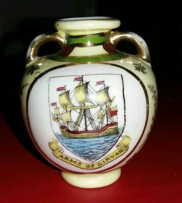 Crested China - ARMS OF GIRVAN - Gemma • 4.49£