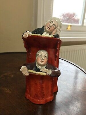 Very Unusual Victorian China Ornament - Vicar And Curate • 10£
