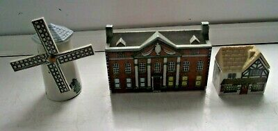 Wade Whimsies Whimsey On Why House Windmill 16 Bloodshot Hall 6 Post Office 12 • 0.99£