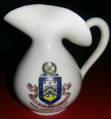 Crested China - Royal Leamington Spa - Jug - Gemma • 2.99£