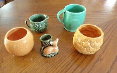 Mixed Collection Of SylvaC Items - Pots (582 & 583), Jugs, Cup, Posy Vase • 2.99£
