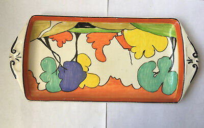 Clarice Cliff (Possibly) Sandwich Tray • 19£