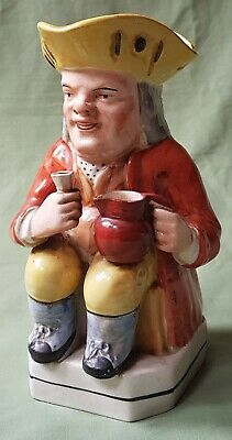 Nice Early Pottery Toby Jug. Nice Colouring • 10£
