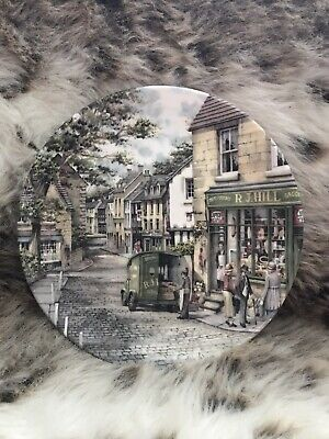 Royal Doulton Window Shopping Series Collectors Plate The General Store • 2.99£