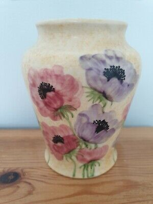 An E Radford Pottery Vase With Anenomes • 9.99£