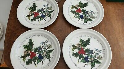 Portmeirion The Holly And The  Ivy Dinner Plates And Bowls And Side • 9£