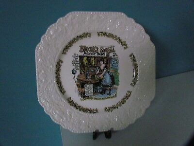 Lord Nelson Pottery Decorative Plate Advertising Brooke's Soap • 8£