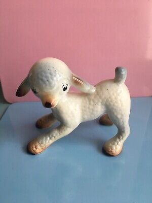 Vintage 1950's Kitsch Weatherby Hanley China Lamb • 8£