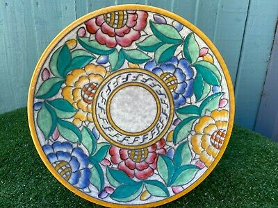 SUPERB CHARLOTTE RHEAD ART DECO TUBE LINED  PERSIAN  PATTERNED CHARGER C1920/30s • 29£