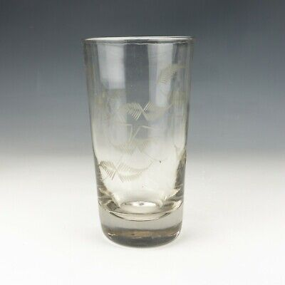Antique Georgian Hop Decorated Pint Ale Drinking Glass - Early! • 12.50£