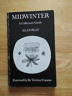 MIDWINTER POTTERY Midwinter: A Collectors Guide By Alan Peat RARE Book • 9.99£