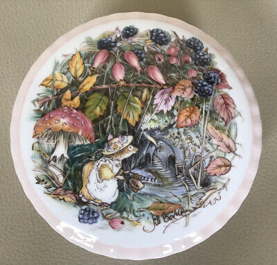 "Royal Doulton Brambly Hedge "" Autumn  ""Trinket Box / Pot And Lid • 14.99£"