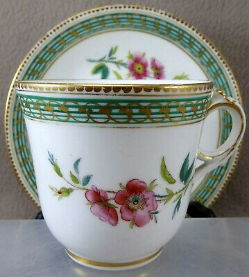 Brown Westhead Moore Cup And Saucer C1862 Pattern 5/4958 • 24.99£