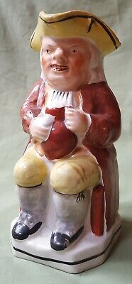 Nice Early 19th Century Toby Jug, Unusual Colour Scheme • 45£