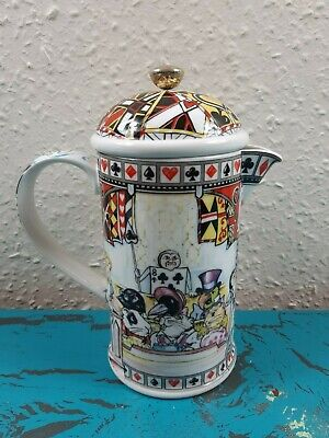 Paul Cardew China Alice In Wonderland Cafetiere • 49.95£
