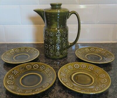 Rare Vintage Lord Nelson Coffee Pot And Plates Very Good Condition • 25£