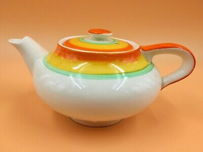 Art Deco Gray's Pottery Hand Painted 1 Cup Teapot. H541. • 28.50£