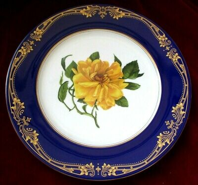 Aynsley Bone China Floral Rose Cabinet Plate • 9.99£
