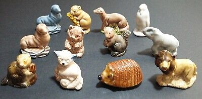 Collectable Wade Whimsies Collection Of 12 Vintage Animals • 10£