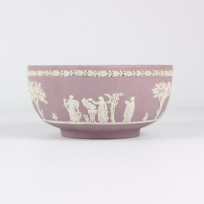 Wedgwood Jasper Ware Lilac Fruit Bowl • 180£