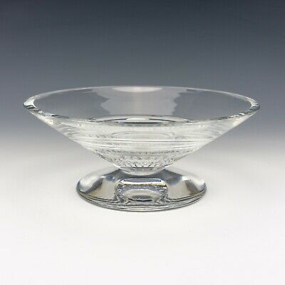 Waterford Crystal - Jasper Conran - Contemporary Cut Glass Bowl - Lovely! • 19.99£
