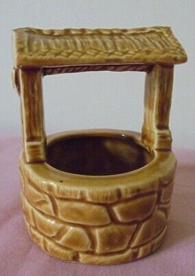 Retro Sunglow Ceramic Pottery Wishing Well New Devon England • 2.99£