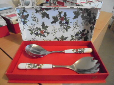 BNWT  Portmeirion Holly And Ivy Spoons  Boxed • 9£