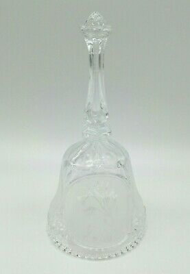 Vintage Clear Glass Decorative Collectors Bell • 0.99£