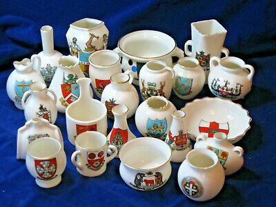 Job Lot Of 23 Pieces Of Goss Crested China (2) • 9£