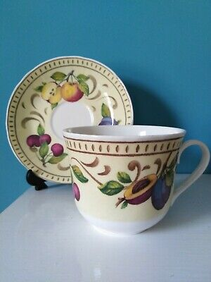 Vintage  'Antigua' Breakfast Cup & Saucer By Roy Kirkham -1998 • 15£