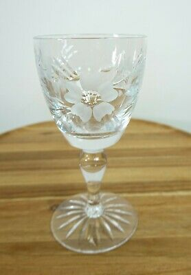 Royal Albert Old Country Roses (Gray Cut Flowers) Wine Glass • 14£